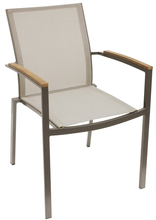 Whiteline Modern Living - Sanctuary Outdoor Dining Armchair - UNQFurniture