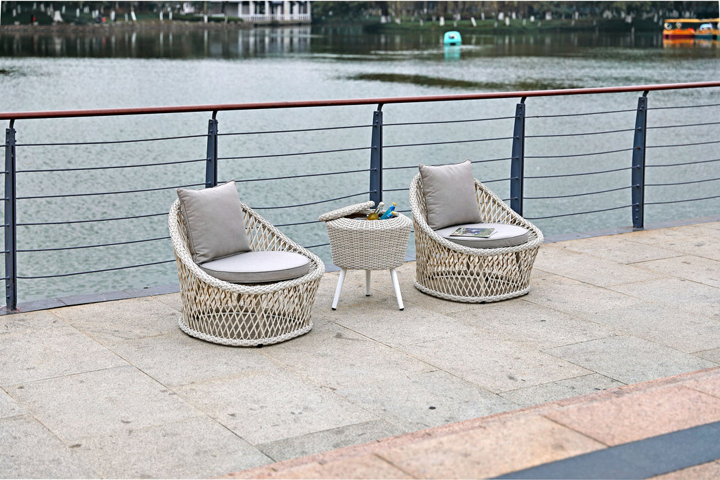 Whiteline Modern Living - Canyon Outdoor Set - UNQFurniture