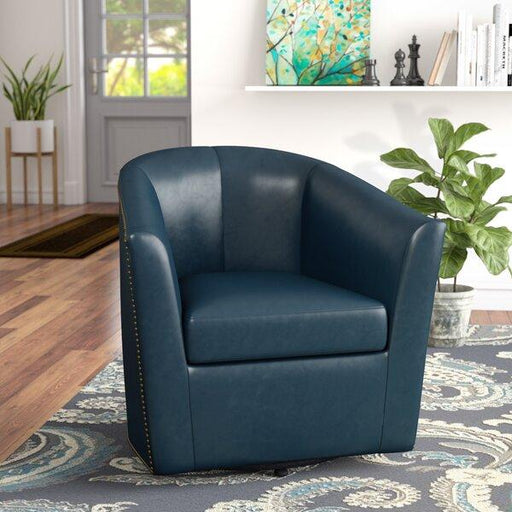 Rabinowitz Swivel Barrel Chair