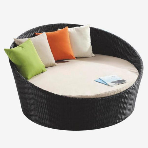 "Feruci - Outdoor Day Bed Bed 63"" Dia - UNQFurniture"