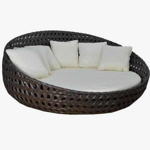 "Feruci - Outdoor Day Bed 83"" Dia - UNQFurniture"