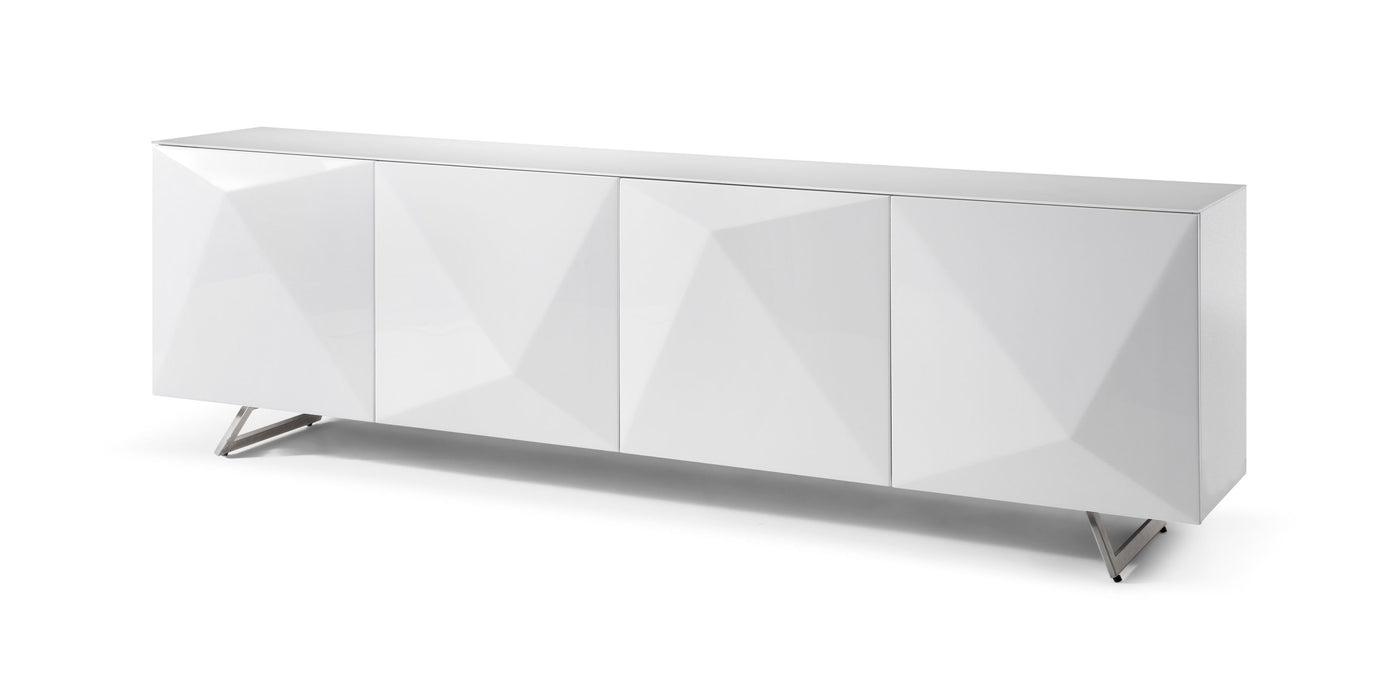 Whiteline Modern Living - Samantha Buffet - UNQFurniture