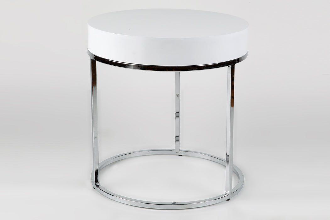 Whiteline Modern Living - Mog Side Table - UNQFurniture