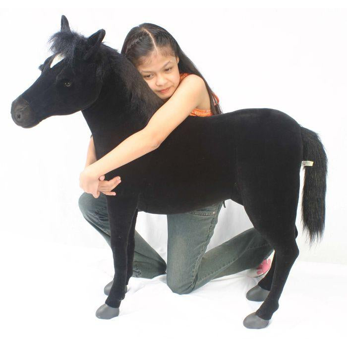 Black Beauty Horse, Ride-On - UNQFurniture