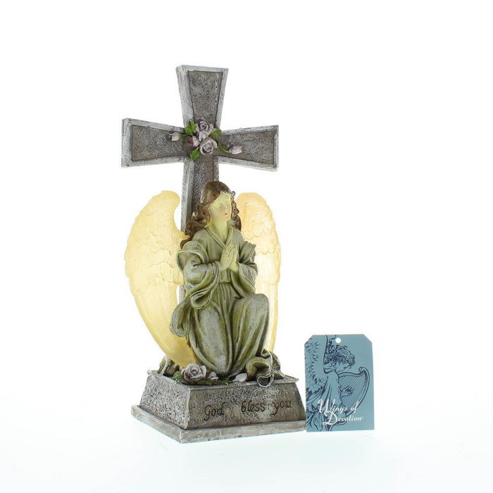 Blessed Cross Solar Light - UNQFurniture