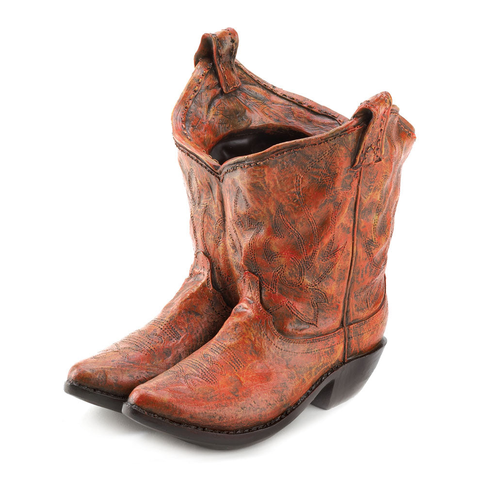 Cowboy Boot Planter - UNQFurniture