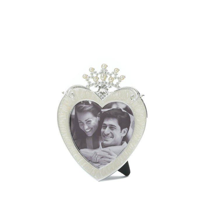 Crown Heart Picture Frame 3 X 3 - UNQFurniture
