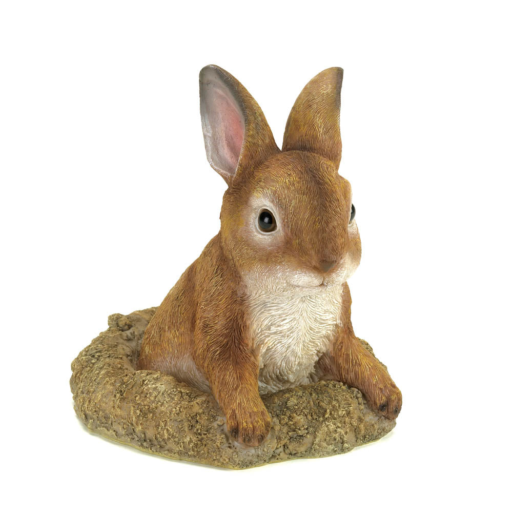 Curious Bunny Garden Decor - UNQFurniture