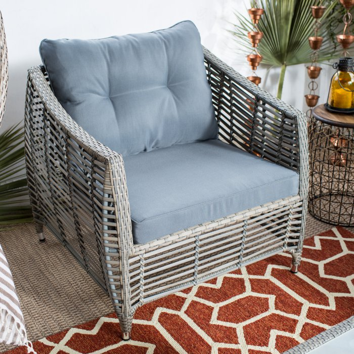 Kambree All Weather Wicker Outdoor Conversation Set