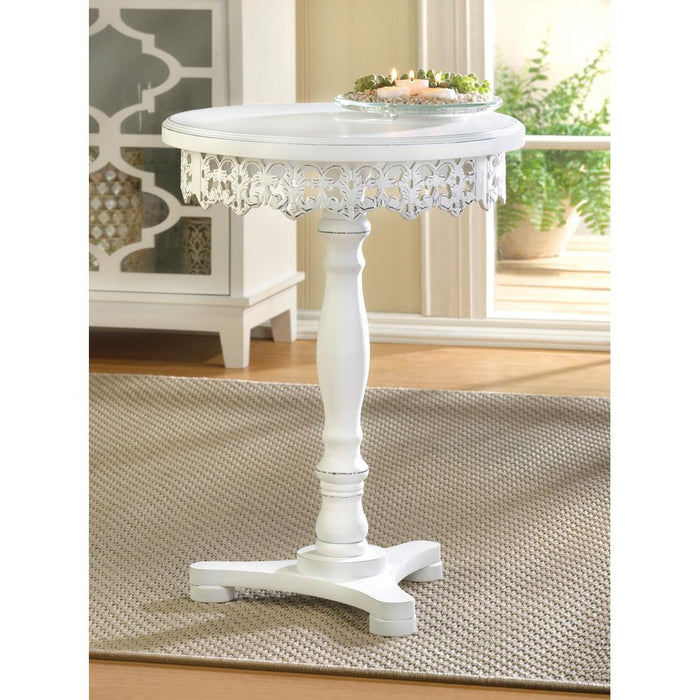 Flourish Pedestal Table - UNQFurniture