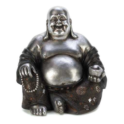 Happy Sitting Buddha Statue - UNQFurniture