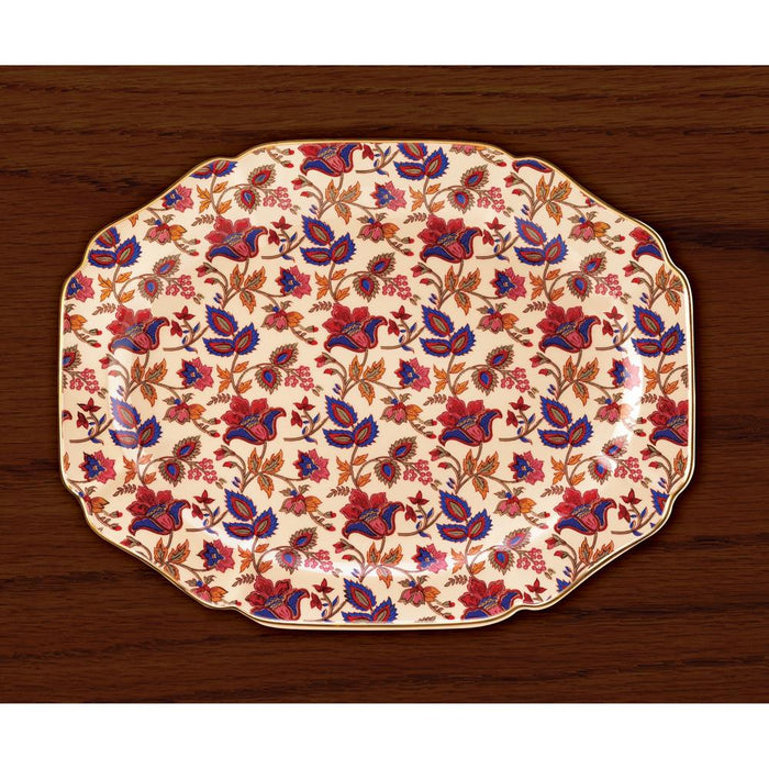 Jaipur Cream Serving Platter - UNQFurniture