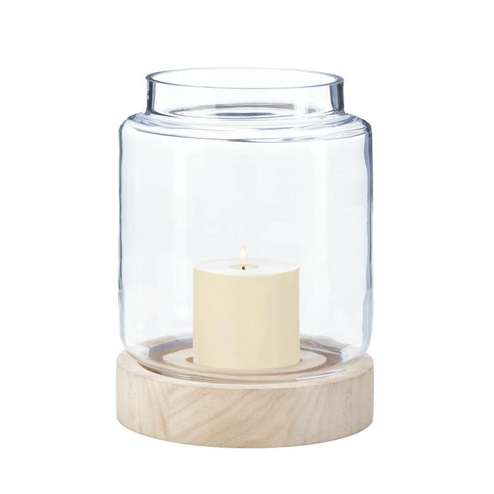 Large Coastal Cabin Hurricane Lantern - UNQFurniture