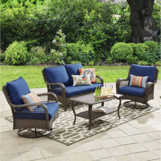 Colebrook 4-Piece Outdoor Conversation Set