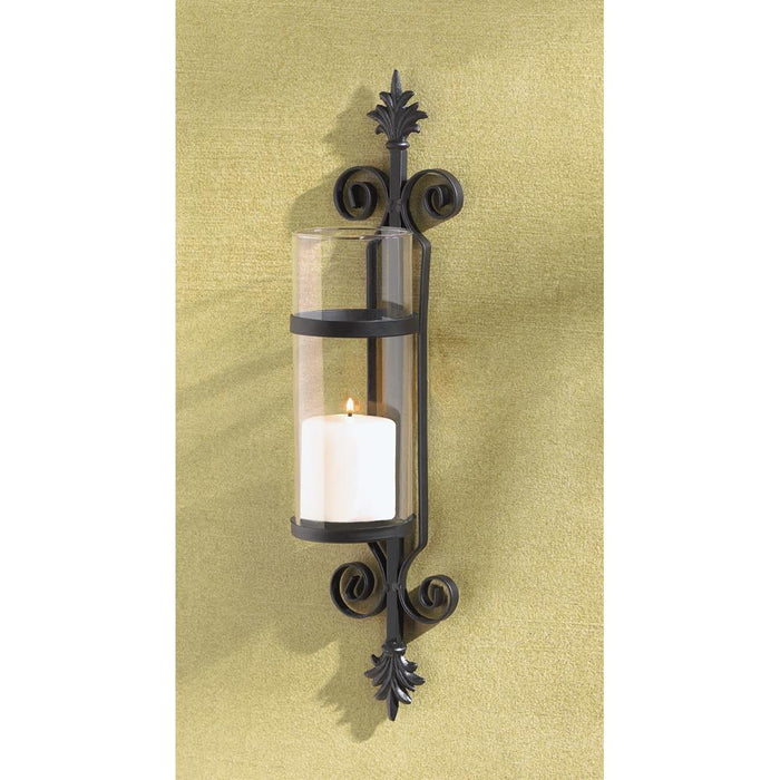 Ornate Scroll Candle Sconce - UNQFurniture