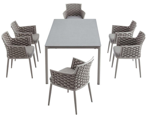 Feruci - Palma Outdoor Patio Family Dining Table - UNQFurniture