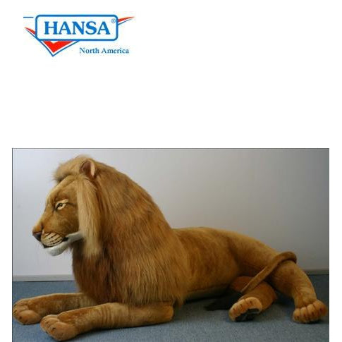 Lion Laying Life Size - UNQFurniture