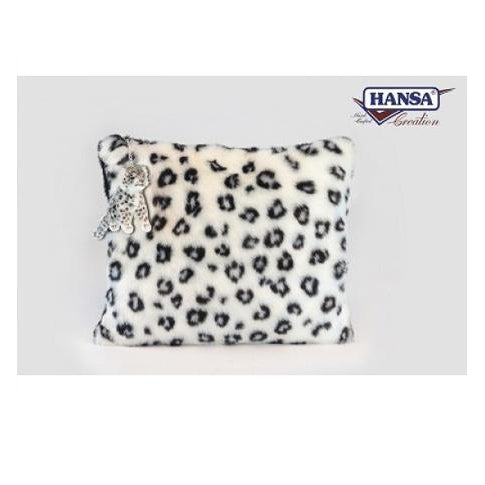 "Snow Leopard Pillow 21"" - UNQFurniture"