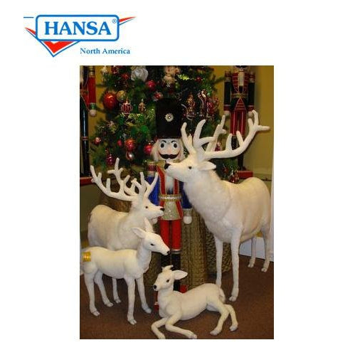 "White Deer 48"" Tall Ride-On - UNQFurniture"