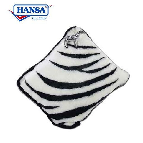 "Zebra Pillow 21"" - UNQFurniture"