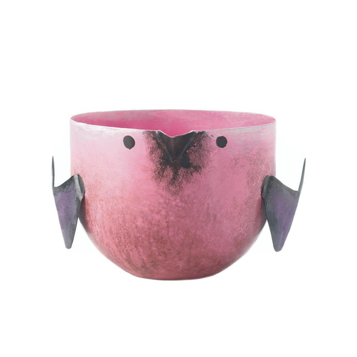Pink Berry Sorbet Birdie Candle - UNQFurniture