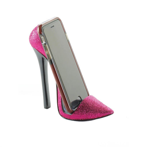 Pink Shoe Phone Holder - UNQFurniture