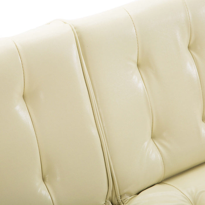 Split Back Futon Recliner Sleeper Couch - UNQFurniture