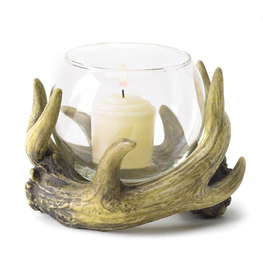 Rustic Antler Candle Holder - UNQFurniture