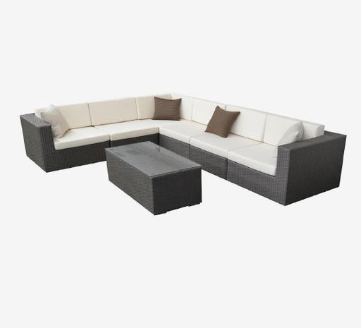 Feruci - Ibiza Outdoor Patio Sectional Extra Large - UNQFurniture