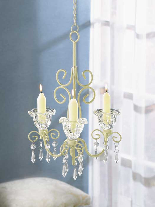 Shabby Chic Scroll Candelier - UNQFurniture