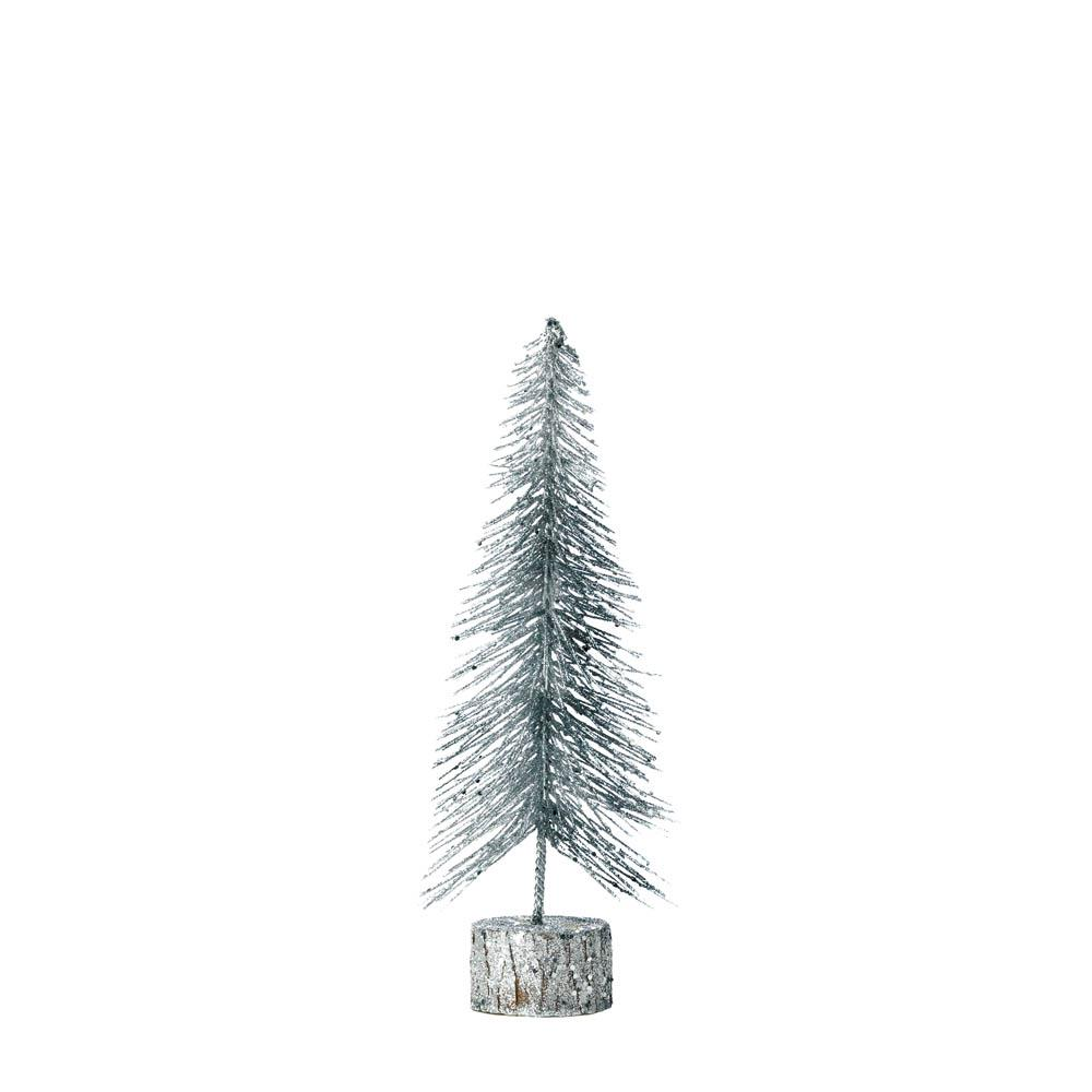 Small Silver Glitter Tree - UNQFurniture