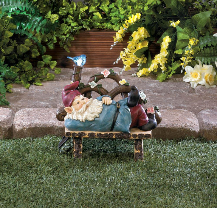 Solar Afternoon Nap Gnome - UNQFurniture