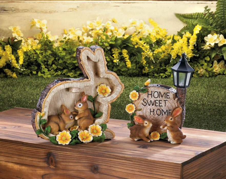 Solar Home Sweet Home Bunnies - UNQFurniture