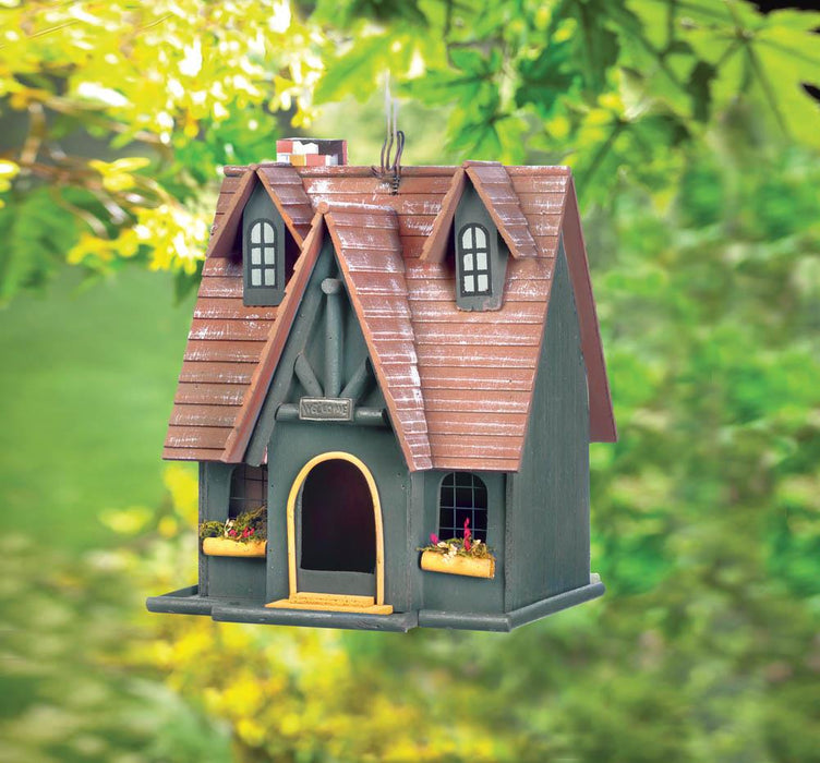 Storybook Cottage Birdhouse - UNQFurniture