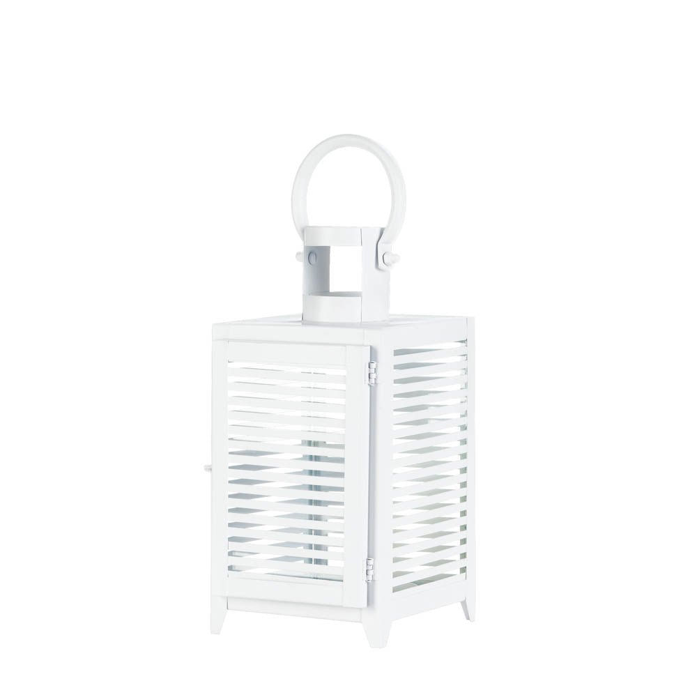 White Horizon Lantern - UNQFurniture