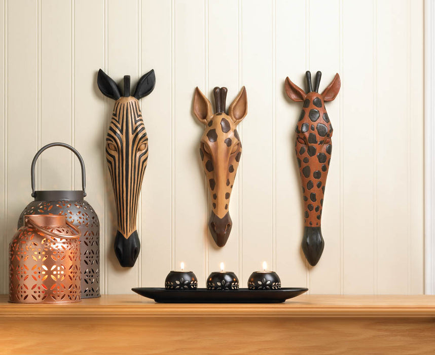 Wild Giraffe Wall Plaque - UNQFurniture