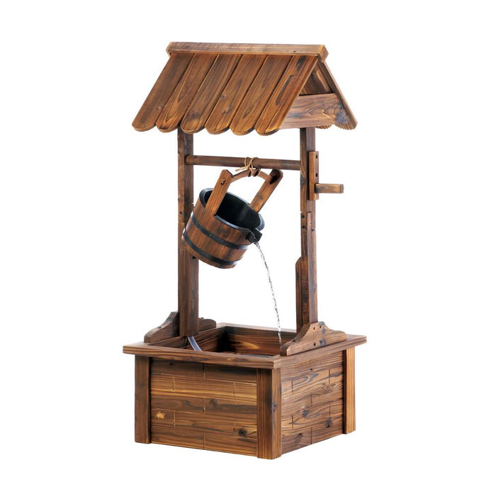Wishing Well Water Fountain - UNQFurniture