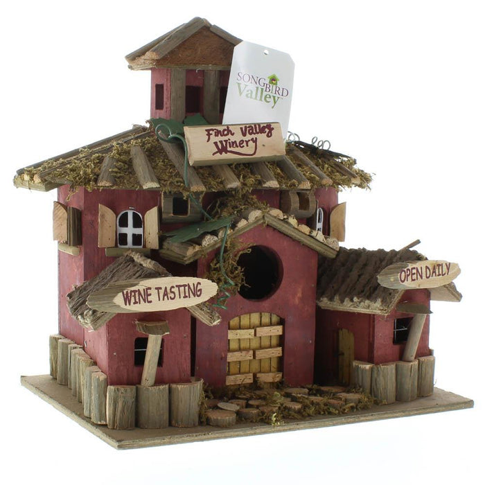 Finch Valley Winery Bird House - UNQFurniture