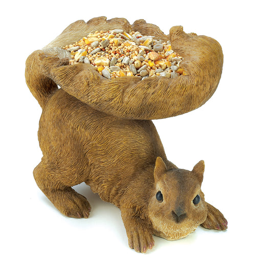 Woodland Squirrel Birdfeeder - UNQFurniture