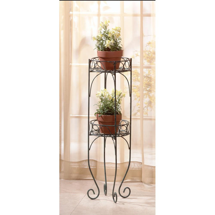 Wrought Iron Plant Stand - UNQFurniture
