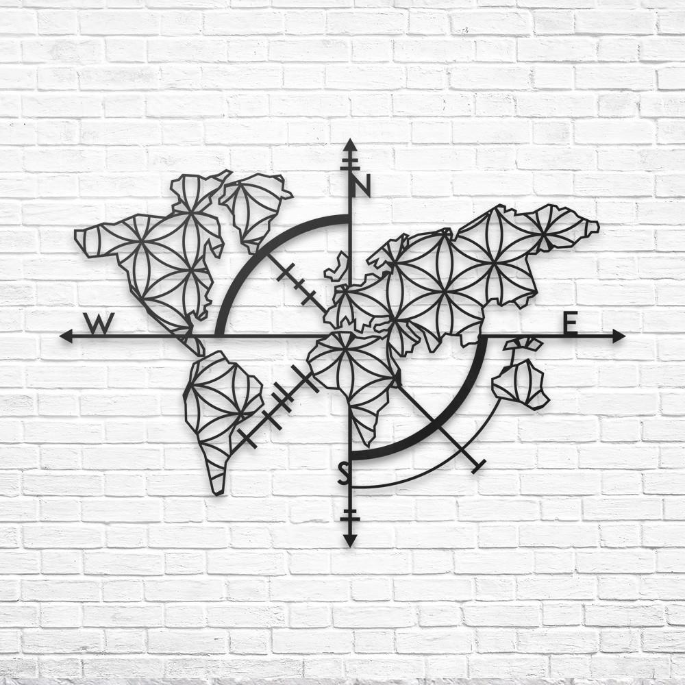 Map of life metal wall decor northshire map of life metal wall art wall decor world map decor gumiabroncs Choice Image