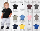 Kindergarten {{Any Grade}} Dude Custom Shirt for Kids, Short Sleeve
