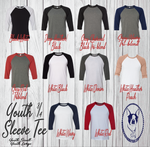 Youth 3/4 Sleeve Tee