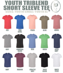 Youth Triblend Short Sleeve Tee