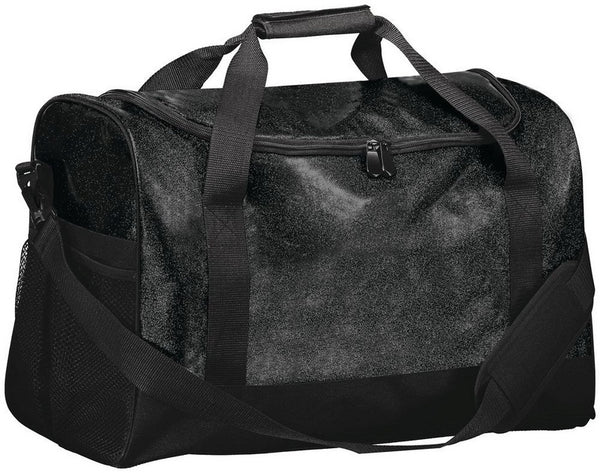 YOUR Choice of Design Glitter Duffle Custom Bag (5 Colors)