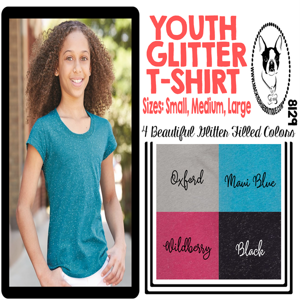 Youth Glitter Tee