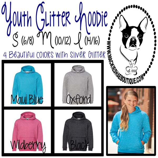 Glitter Hoodie for Girls