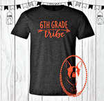 6th Grade {Get Any Grade} Tribe Arrow Custom Shirt, Short Sleeve