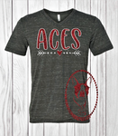 Aces Heart Arrow Custom Shirt, Short Sleeve