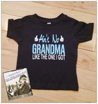 Ain't No Grandma Like The One I Got Custom Shirt for kids, Short-Sleeve, Pink or Blue
